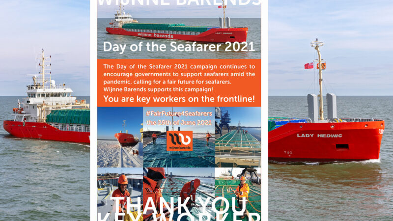 Wijnne Barends Day of the Seafarer